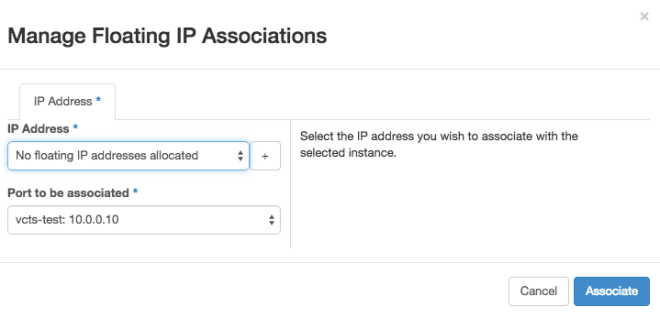 OpenStack - Floating IP 1