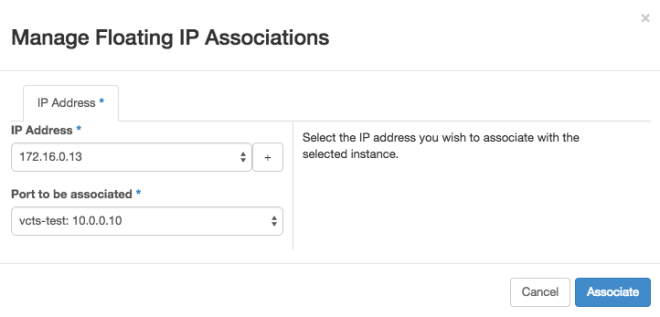 OpenStack - Floating IP 3
