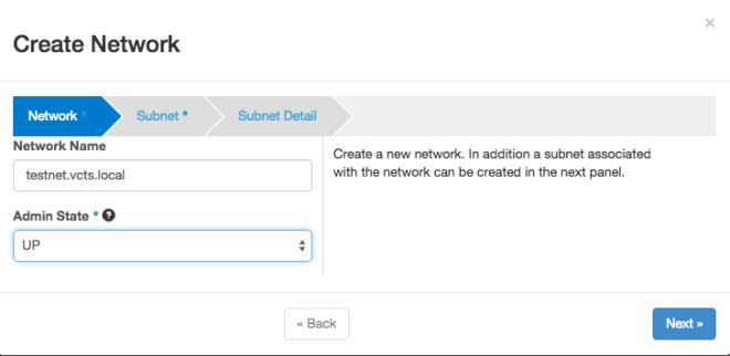 OpenStack Tenant Network 1