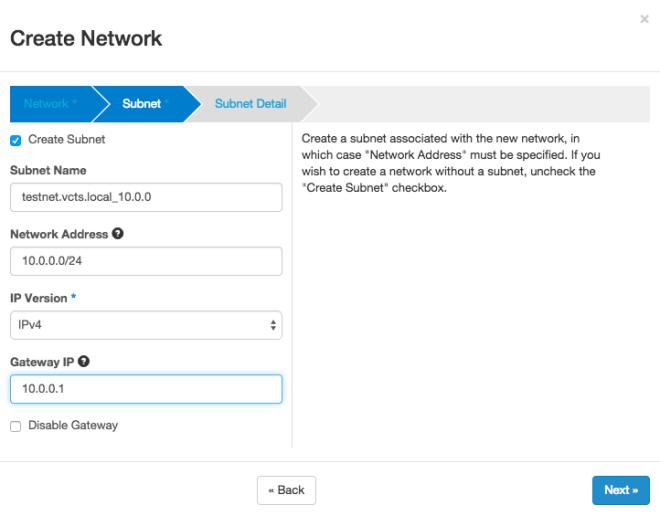 OpenStack Tenant Network 2